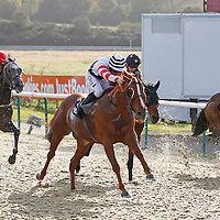 Al Aqabah and N Callan winning the 3.00 race