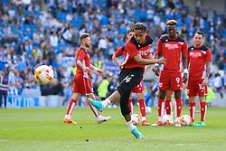 Bobby Reid of Bristol City warms up - Mandatory by-line: Jason Brown/JMP - 29/04/2017 - FOOTBALL - Amex Stadium - Brighton, England - Brighton and Hove Albion v Bristol City - Sky Bet Championship