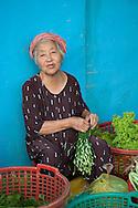 Market Women at China Town, Saigon.