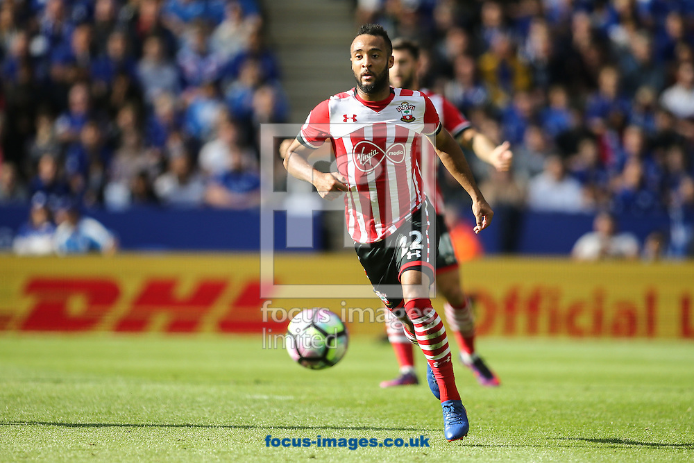 Nathan Redmond of Southampton during the Premier League match at the King Power Stadium, Leicester<br /> Picture by Andy Kearns/Focus Images Ltd 0781 864 4264<br /> 02/10/2016