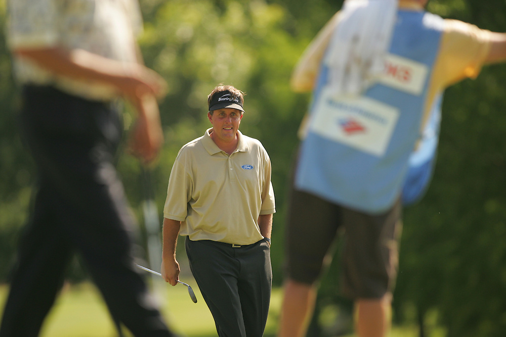 Phil Mickelson..2004 Colonial Invitational.Second Round.Colnial Country Club.Fort Worth, Texas.Friday, May 21 2004.photograph by Darren Carroll