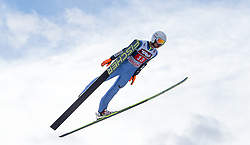 04.01.2015, Bergisel Schanze, Innsbruck, AUT, FIS Ski Sprung Weltcup, 63. Vierschanzentournee, Innsbruck, 1. Wertungssprung, im Bild Kamil Stoch (POL) // Kamil Stoch of Poland soars trought the air during his first competition jump for the 63rd Four Hills Tournament of FIS Ski Jumping World Cup at the Bergisel Schanze in Innsbruck, Austria on 2015/01/04. EXPA Pictures © 2015, PhotoCredit: EXPA/ JFK