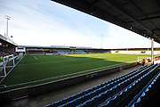 Scunthorpe Uniteds ground before the Sky Bet League 1 match between Scunthorpe United and Bradford City at Glanford Park, Scunthorpe, England on 21 November 2015. Photo by Ian Lyall.