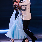 NLD/Hilversum/20120916 - 4de live uitzending AVRO Strictly Come Dancing 2012, Mark van Euwen met danspartner Jessica Maybury