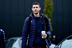 Josh Rogers of Bristol Flyers heads towards the bus before leaving the Village Hotel to travel to Worcester Wolves - Photo mandatory by-line: Ryan Hiscott/JMP - 01/11/2019 - BASKETBALL - University of Worcester - Bristol, England - Worcester Wolves v Bristol Flyers - British Basketball League Cup