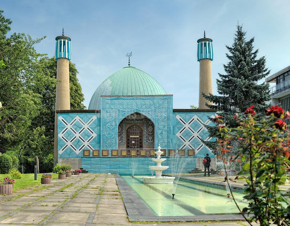 Moschee der iranische Kolonie an der Schönen Aussicht