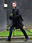 © Licensed to London News Pictures. 22/02/2012, London, UK. Graeme  Le Saux arrives for the summit. The UK Prime Minister holds a summit at Downing Street on racism in football. Photo credit : Stephen Simpson/LNP