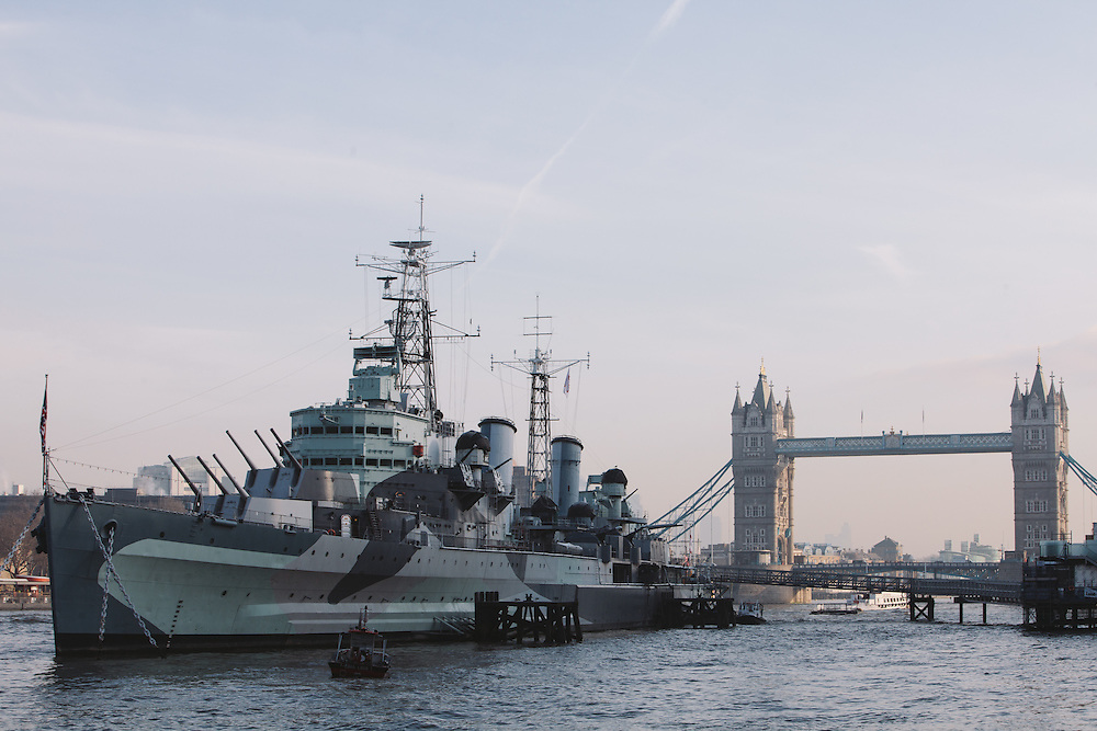 HMS Belfast and the Tower of London