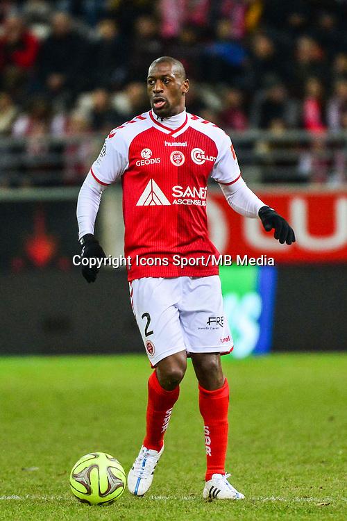 Mohamed FOFANA - 25.01.2015 - Reims / Lens  - 22eme journee de Ligue1<br /> Photo : Dave Winter / Icon Sport *** Local Caption ***