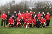 Fintry Athletic pictured before their last 16 Scottish Cup clash with Medda Sports - Dundee Sunday Amateur Football<br /> <br />  - &copy; David Young - www.davidyoungphoto.co.uk - email: davidyoungphoto@gmail.com