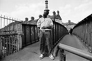 Merlin MC, Harrow Road Bridge, London, UK, 1980s