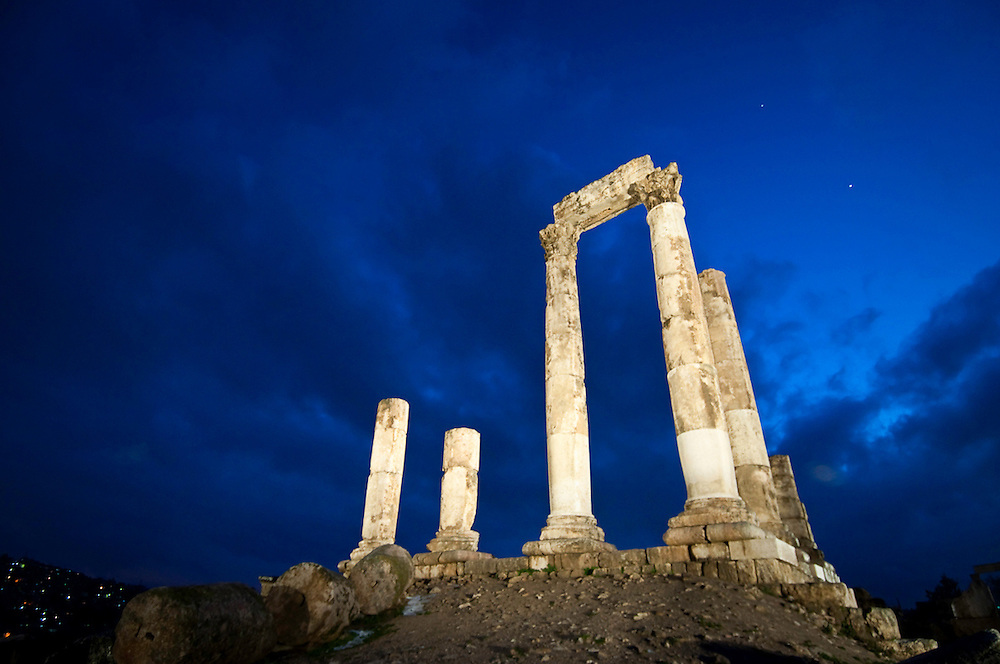 Temple of Hercules. Amman, Jordan. 2012