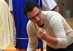 Konstantin Subotic at 12th Round of UPC League basketball match between KK Luka Koper and KK Zlatorog Lasko, on May 2, 2009, in Arena Bonifika, Koper, Slovenia. Zlatorog won the match 72:71. (Photo by Vid Ponikvar / Sportida)