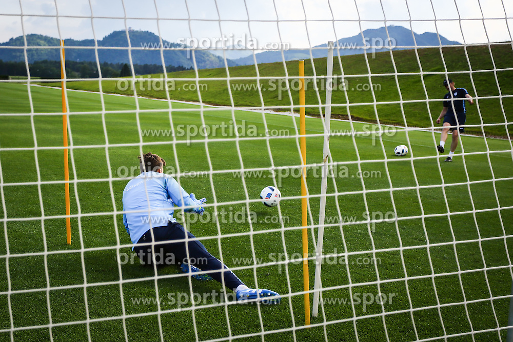 Vid Belec during practice session of Slovenian Football Team practice session of Slovenian National Team before game against Sweden, on May 26, 2016 in Football centre Brdo pri Kranju, Slovenia. Photo by Ziga Zupan / Sportida