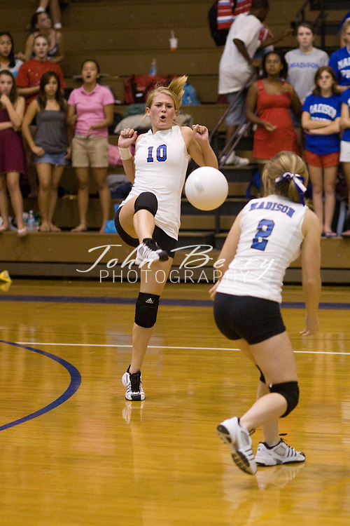 MCHS Varsity Volleyball.vs George Mason.10/4/2007..