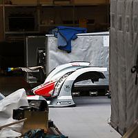 Audi Logistics at the WEC Silverstone 6h in 2013