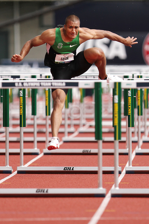 Olympic Trials Eugene 2012: Decathlon, 110 Meter Hurdles, Ashton Eaton