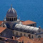 St James Cathedral in Sibenik, Croatia