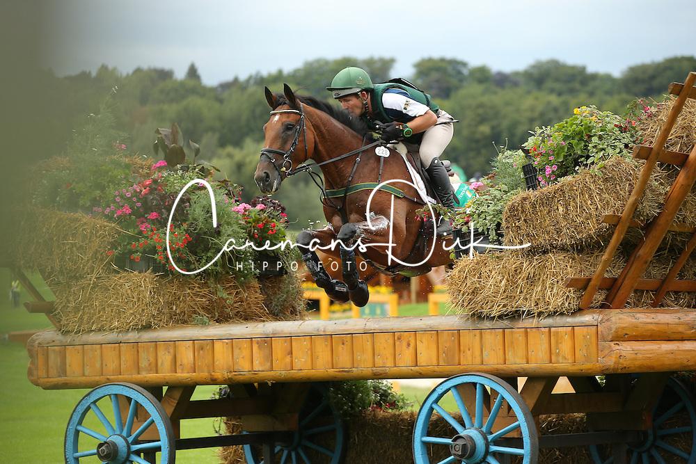 O'Connor Austin, (IRL), Kilpatrick Knight<br /> European Championship Aachen 2015<br /> &copy; Hippo Foto - Stefan Lafrentz