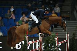 Nunez Riva Santiago, (ESP), Quarela de Toscane<br /> Prize of Raumpflege Jumping<br /> Stuttgart - German Masters 2015<br /> © Hippo Foto - Stefan Lafrentz