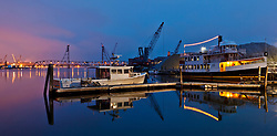 On the waterfront - Portsmouth, New Hampshire.