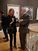 Sally Child and John Byrne, Exhibition of new work by John Byrne,  the Fine Art society. 5 May 2004. SUPPLIED FOR ONE-TIME USE ONLY> DO NOT ARCHIVE. © Copyright Photograph by Dafydd Jones 66 Stockwell Park Rd. London SW9 0DA Tel 020 7733 0108 www.dafjones.com