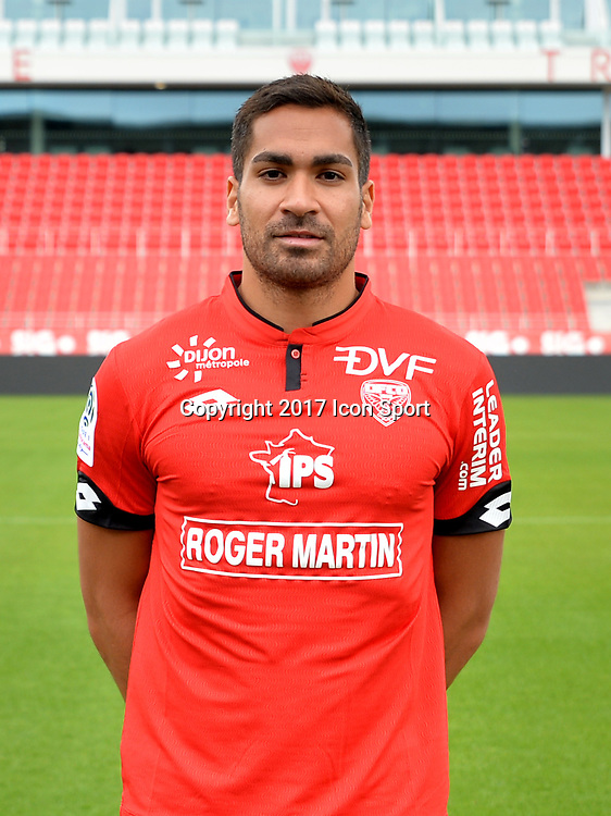 Wesley LAUTOA during photoshooting of Dijon FCO for new season 2017/2018 on September 11, 2017 in Dijon, France. (Photo by Vincent Poyer/Icon Sport)