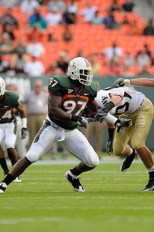 2008 Miami Hurricanes Football vs Wake Forest