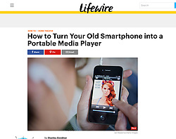 Lifewire website; Listening to music on smart phone