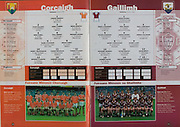 All Ireland Senior Hurling Championship - Final, .10.09.2000, 09.10.2000, 10th September 2000, .10092000AISHCF,.Senior Kilkenny v Offaly,.Minor Cork v Galway,.Kilkenny 5-15, Offaly 1-14, .Cork, 1 Kevin Murphy, Erin's Own, 2 Colm Sullivan, Cloyne, 3 Jerry O'Brien, Milford, 4 Brian Murphy, Bride Rovers, 5 John O'Neill, Ballincollig, 6 Paul Tierney, Blackrock, 7 Graham Calnan, Glen Rovers, 8 Mark O'Connor, Erin's Own, 9 Brian Carey, Mallow, 10 Garry McLoughlin, Douglas, 11 Conor Brosnan, Ballinora, 12 Tomas O'Leary, Erin's Own, 13 Setanta O hAilpin, Na Piarsagh, 14 Eamonn Collins, Valley Rovers, 15 Kieran Murphy, Sarsfield, Subs, Declan McCarthy, Rory McCarthy, Gerard Burke, John Gardiner, Des Ftzgerald, david Cashman, Stephen O'Sullivan, Kevin Foley, Donal Cronin, ..Galway, 1 AIdan Diviney, Oranmore Maree, 2 Brian O'Mahoney, Loughrea, 3 Tony Regan, Rahoon Newcastle, 4 Niall Corcoran, Meelick Eyrecourt, 5 Shane Kavanagh, Kinvara, 6 Adrian Diviney, Beagh, 7 Adrian Cullinane, Craughwell, 8 Gerry Farragher, Castlegar, 9 Barry Coen, Ballindereen, 10 Richard Murray, St Thomas, 11 Peter Garvey, Sarsfield, 12 Kevin Brady, Sylane, 13 Damien Hayes, Portumna, 14 Trevor Kavanagh, 15 David Greene, subs, Joe O'Leary, Joe Gantley, Eoin Lynch, JP O'Connell, David O'Gorman, John Muldoon, Kevin Hayes, Johnny Maher, Fergal Moore,