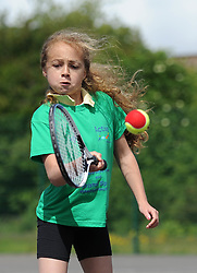 Children play tennis during the Bristol Sport Youth Festival - Photo mandatory by-line: Dougie Allward/JMP - Mobile: 07966 386802 - 06/06/2015 - SPORT - Multi-Sport - Bristol - SGS Wise Campus - Bristol Sport Festival Of Youth Sport - Festival Of Youth