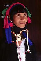 Paduang woman in Burma - the Giraffe women