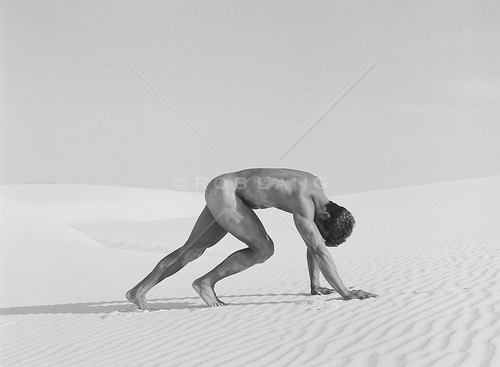 fine art photograph of male nude