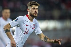 March 21, 2019 - Vienna, Austria - Mateusz Klich of Poland during the UEFA European Qualifiers 2020 match between Austria and Poland at Ernst Happel Stadium in Vienna, Austria on March 21, 2019  (Credit Image: © Andrew Surma/NurPhoto via ZUMA Press)
