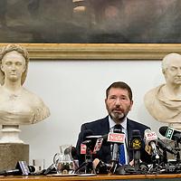 Ultima conferenza stampa del Sindaco di Roma Ignazio Marino