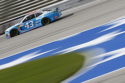 November 3, 2018 - Ft. Worth, Texas, United States of America - Darrell Wallace, Jr (43) takes to the track to practice for the AAA Texas 500 at Texas Motor Speedway in Ft. Worth, Texas. (Credit Image: © Justin R. Noe Asp Inc/ASP via ZUMA Wire)