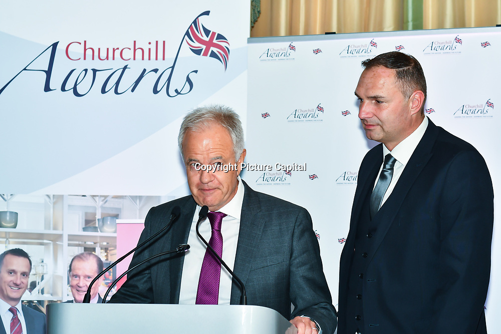 Martin Young Presents the 7th annual Churchill Awards honour achievements of the Over 65's at Claridge's Hotel on 10 March 2019, London, UK.