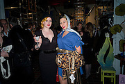 NATHALIE MONROE; IMMODESTY BLAIZE, Rumble in the Jumble hosted by Gwyneth Paltrow and Camila Batmanghelidjh. To support Kids Company. The Boiler House. 152 Brick Lane. 6 November 2008 *** Local Caption *** -DO NOT ARCHIVE-© Copyright Photograph by Dafydd Jones. 248 Clapham Rd. London SW9 0PZ. Tel 0207 820 0771. www.dafjones.com.