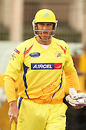 Matthew Hayden of the Chennai Super Kings during the Superkings  training session held at St Georges Park in Port Elizabeth on the 17 September 2010..Photo by: Shaun Roy/SPORTZPICS/CLT20