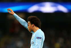 Leroy Sane of Manchester City reacts - Mandatory by-line: Matt McNulty/JMP - 26/09/2017 - FOOTBALL - Etihad Stadium - Manchester, England - Manchester City v Shakhtar Donetsk - UEFA Champions League Group stage - Group F