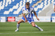 Colchester Utd midfielder Doug Loft controls the ball during the EFL Sky Bet League 2 match between Colchester United and Cambridge United at the Weston Homes Community Stadium, Colchester, England on 13 August 2016. Photo by Nigel Cole.