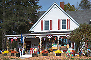 Traditional country store - Flossie's General Store and Emporium at Jackson in New Hampshire, USA