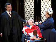 Forty Years On <br /> by Alan Bennett <br /> at Festival Theatre Chichester , Great Britain <br /> press photocall <br /> 25th April 2017 <br /> <br /> Richard Wilson as Headmaster <br /> <br /> Alan Cox as Franklin <br /> <br /> <br /> Jenny Galloway as Matron <br /> <br /> <br /> <br /> <br /> <br /> Photograph by Elliott Franks <br /> Image licensed to Elliott Franks Photography Services
