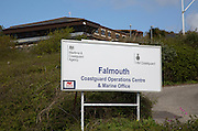 Coastguard Operations centre and Marine office, Falmouth, Cornwall, England, UK