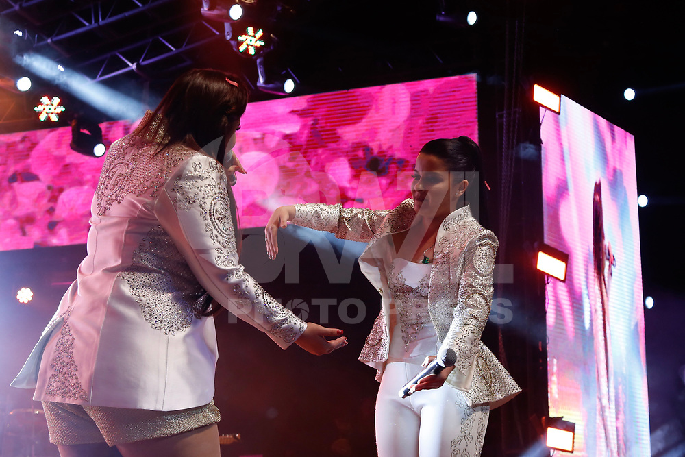 SÃOPAULO, SP, 27.10.2017 - SHOW-SP - A dupla Maiara e Maiarisa durante a apresentação de show no Citibank Hall na noite desta sexta-feira, 27. (Foto: Adriana Spaca/Brazil Photo Press)