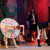 Libby Ezell | BUY AT PHOTOS.DJOURNAL.COM<br /> Cara Elizabeth Smart and Paul Tillman from Ballet Arkansas performed as Mechanical Dolls in Saturday's Matinee of the Nutcracker