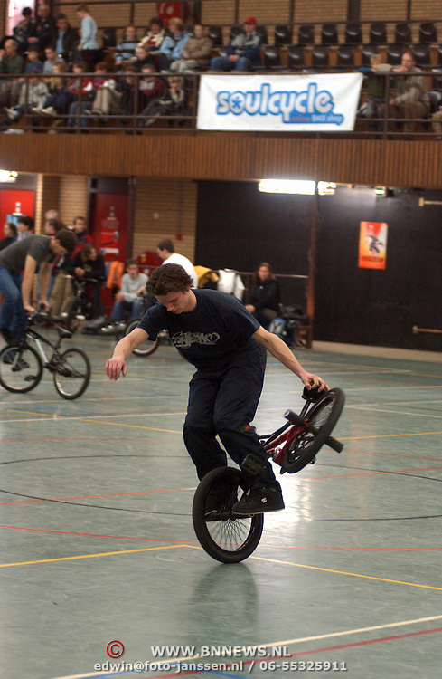 Show BMX wedstrijden Zanderij Bussum