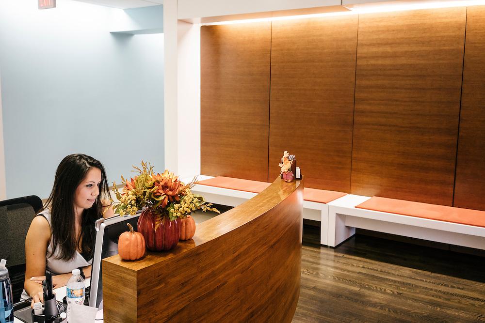 GMF reception area