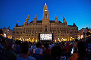 Free entrance to music movies: Open Air Cinema at the Rathausplatz (City Hall Square) during the summer months.