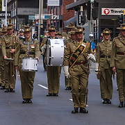 March, ANZAC Day, Hobart, Tasmania, Australia